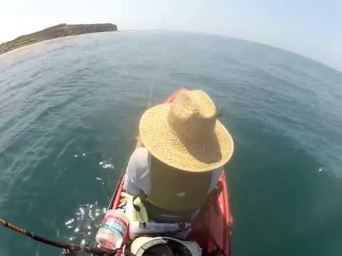 Dana point kayak fishing may 18 2013 youtube for Dana point fish report