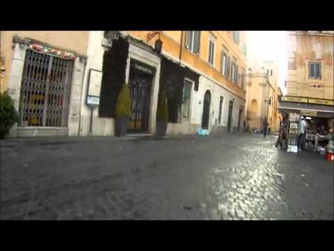 verso villa pamphili roma