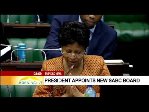 New SABC appointed