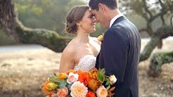 A Vibrant Fall Wedding on a California Ranch | Martha Stewart Weddings