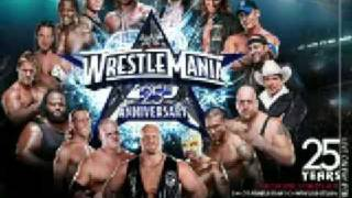 "WWE Wrestlemania 25 Official Theme - ""Shoot to Thrill"" by AC/DC"