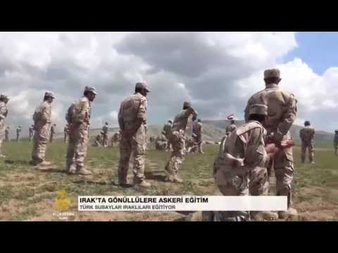 Türk askerinin Musul kampı