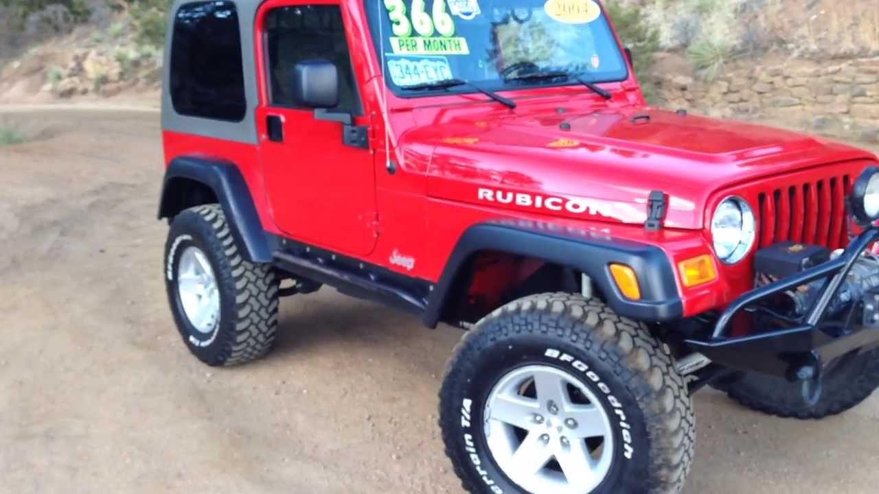 2004 Jeep Rubicon At The Red Noland Pre Owned Center Youtube