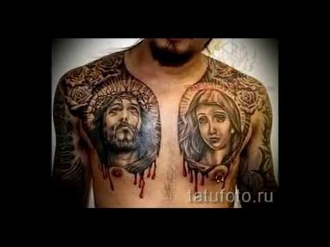 Тату иконы фото лучших вариантов готовых татуировок с ликами святых