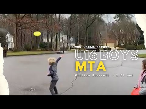 NEW U6 Boys MTA World Record