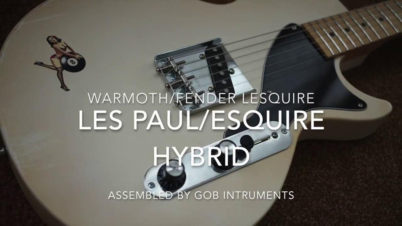 Warmoth LESQUIRE SP6 TELECASTER ESQUIRE LES PAUL JR HYBRID