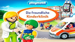 PLAYMOBIL KINDERKLINIK App für iOS & Android Deutsch - Ärzte kümmern sich um kleine Patienten!