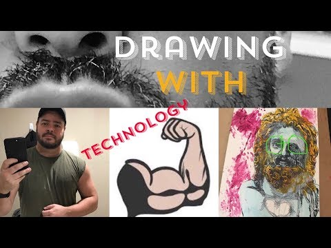 Drawing, Art and Painting with Technology