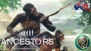 Ancestors: The Humankind Odyssey 🐒 Live Play Through, The Savage Monkey Army (Part 3)