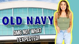 WEARING ONLY OLD NAVY FOR A WEEK | ALEXANDREA GARZA