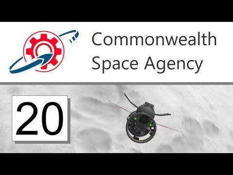 Kerbal Commonwealth Space Agency - 20. Mün Science Bonanza (KSP 1.0.5)