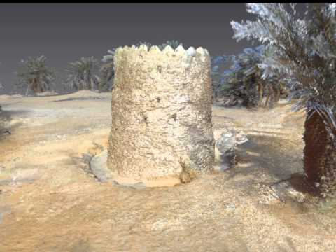 Archaeological Fort 3D Scan