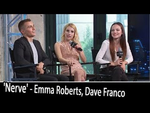 'NERVE' Cast Interview: Emma Roberts, Dave Franco, Emily Meade, Ariel Schulman. | July 12,