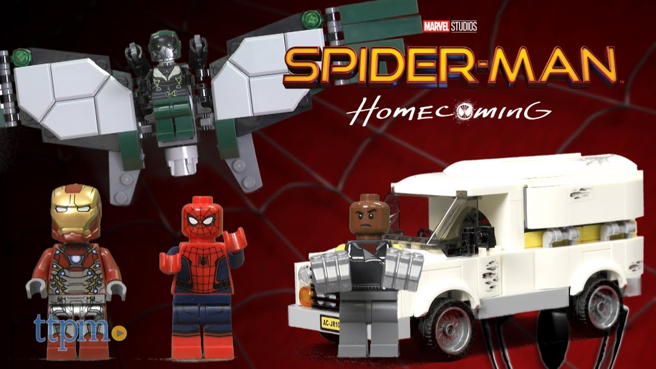 5d9efed4 Spider-Man Homecoming Movie Toy Reviews