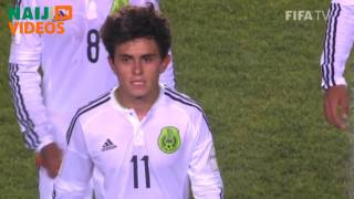 Chile 2015 Highlights: Mexico 2 - 4 Nigeria, U-17, Semi-Finals