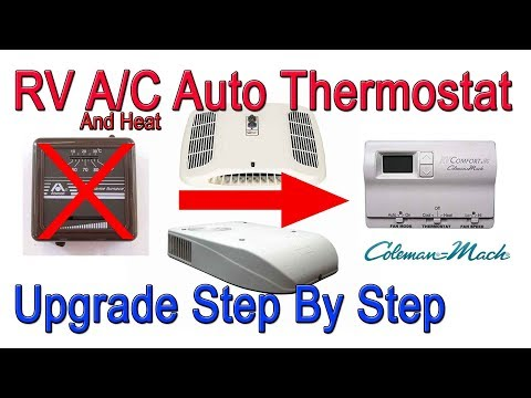 Repeat Coleman Mach 8 A/C and Heat Manual to Automatic