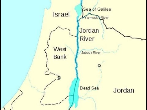 The Jordan River YARAD The Meaning Of YouTube - World map jordan river