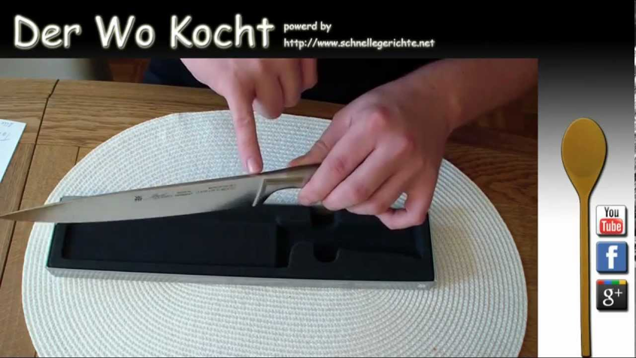 Küchenmesser Sky Light Der Wo Kocht Wmf Kochmesser 20 Cm Grand Gourmet Unboxing Review