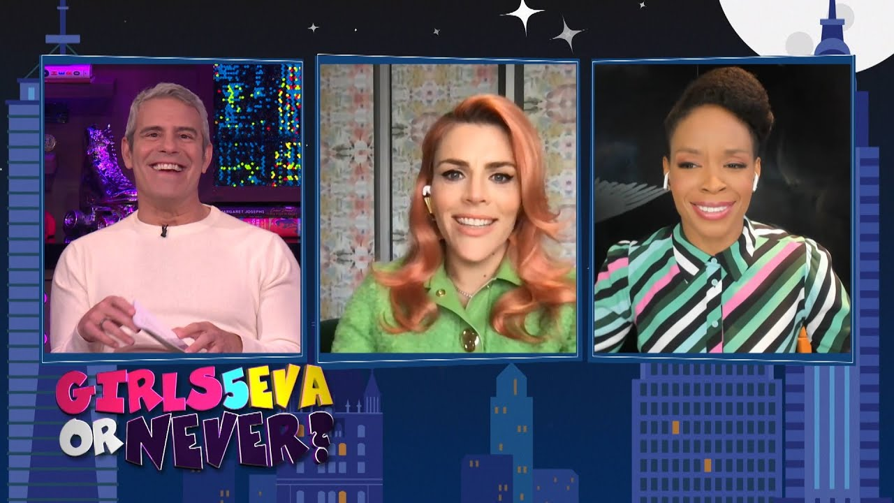 Busy Philipps & Amber Ruffin Spill Girl Group Tea | WWHL