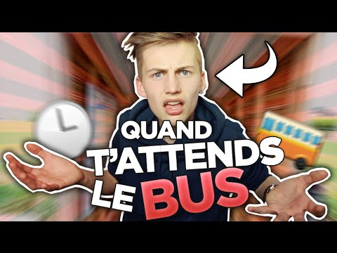 Thumbnail: QUAND T'ATTENDS LE BUS - TIM