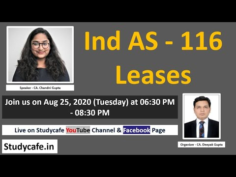 Ind AS - 116 Leases