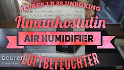 Beurer LB 88 Unboxing Ilmankostutin - Air humidifier - Luftbefeuchter