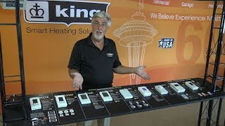Thermostats Product Line Overview: Line Voltage Options For Electric Heaters: King Electric