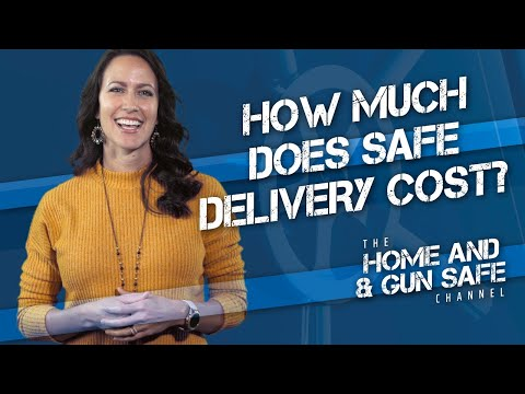 How Much Does it Cost to Have a Gun Safe Delivered?