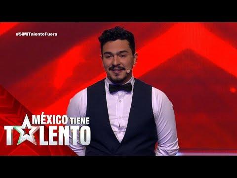 Adrián Baroni Presentó Un Show Renovado. (1/2)   Temporada 3   Programa 18   México Tiene Talento