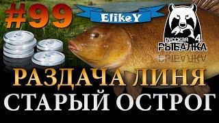 Много Трофейных Линей Как Ловить На что клюет Старый Острог Русская Рыбалка 4 99