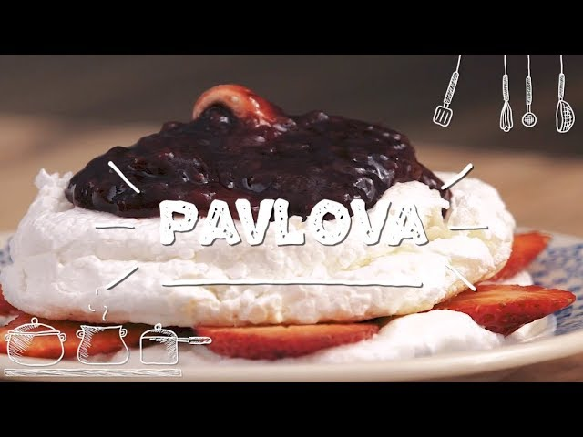 Pavlova de Frutas Vermelhas - Sabor com Carinho (Tijuca Alimentos)
