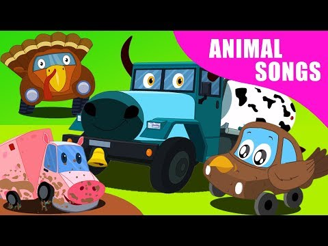 Learn Animal Sounds | Nursery Rhymes And Cartoon Shows by Kids Channel