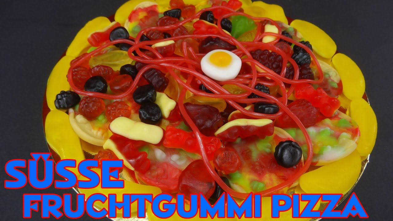 Süsse Fruchtgummi Pizza Mhhhh Leggaaaa Youtube