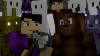 Nightmare FNAF Minecraft Music Video 3A Display Song by NateWantsToBattle