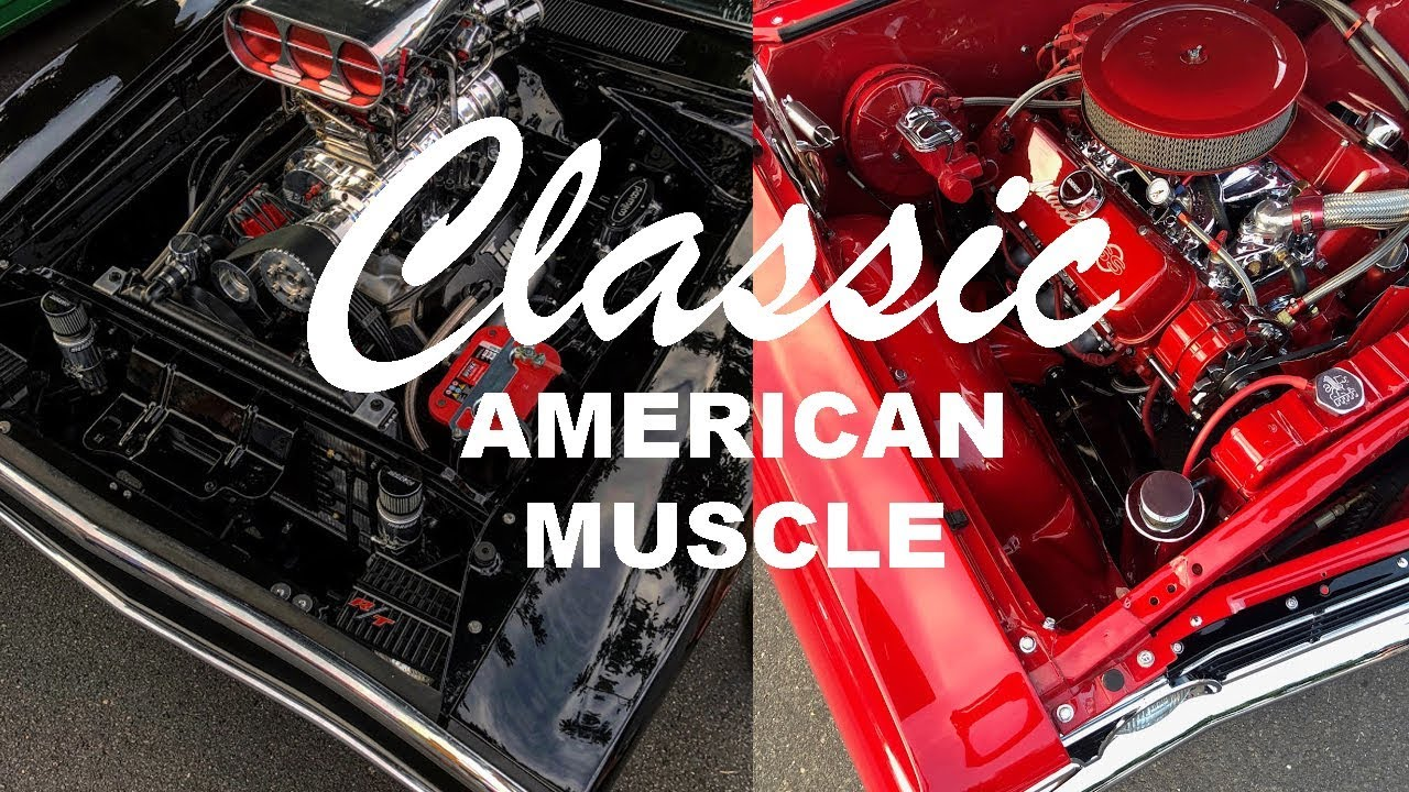 American Muscle Car Show In South Australia - YouTube