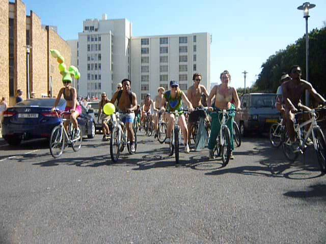 Cape Town Naked Bike Ride - 2015