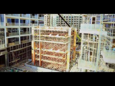 Viceroy Palm Jumeirah Dubai glass cube...