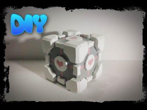 Low Budget DIY Companion Cube (Portal)