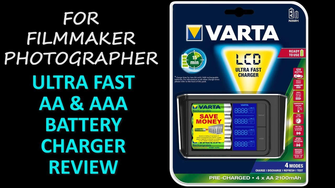 Varta Ultra Fast Charger Review Youtube