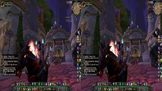 World of  Warcraft  S3D Review  shown in S3D - 1080P - HD