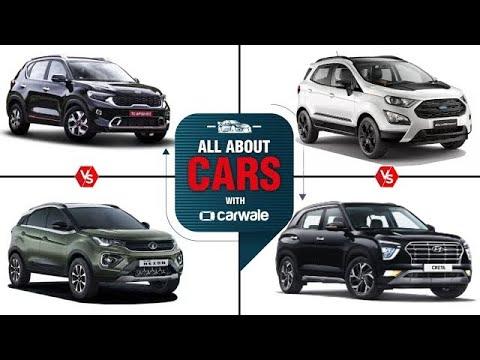 All About Cars | Kia Sonet vs Tata Nexon | Ford EcoSport vs Hyundai Creta | Altroz i Turbo Launch