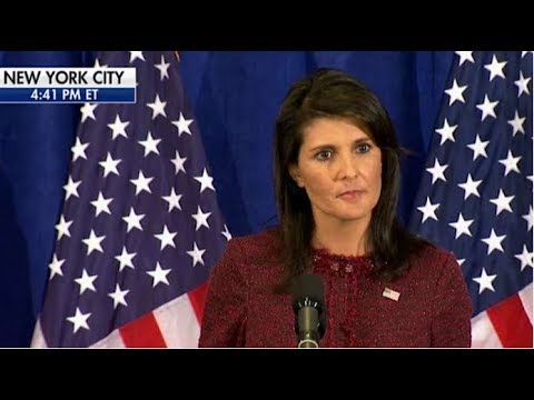 NIKKI HALEY DROPPED MIC ON UN BY ANNOUNCING THE INSANE THING WE DROPPED ON NK!