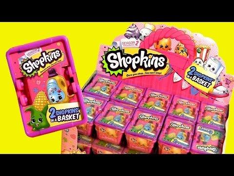 30 New Shopkins Season2 Case 2015 Bolsitas Canastitas Sorpresa