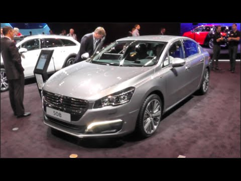 peugeot 508 2016 in detail review walkaround interior exterior youtube. Black Bedroom Furniture Sets. Home Design Ideas