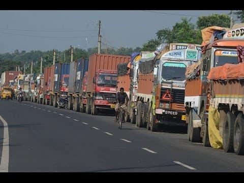Nepali lai Nakabandhi ko Pida - 2072 blockage Sunauli Border