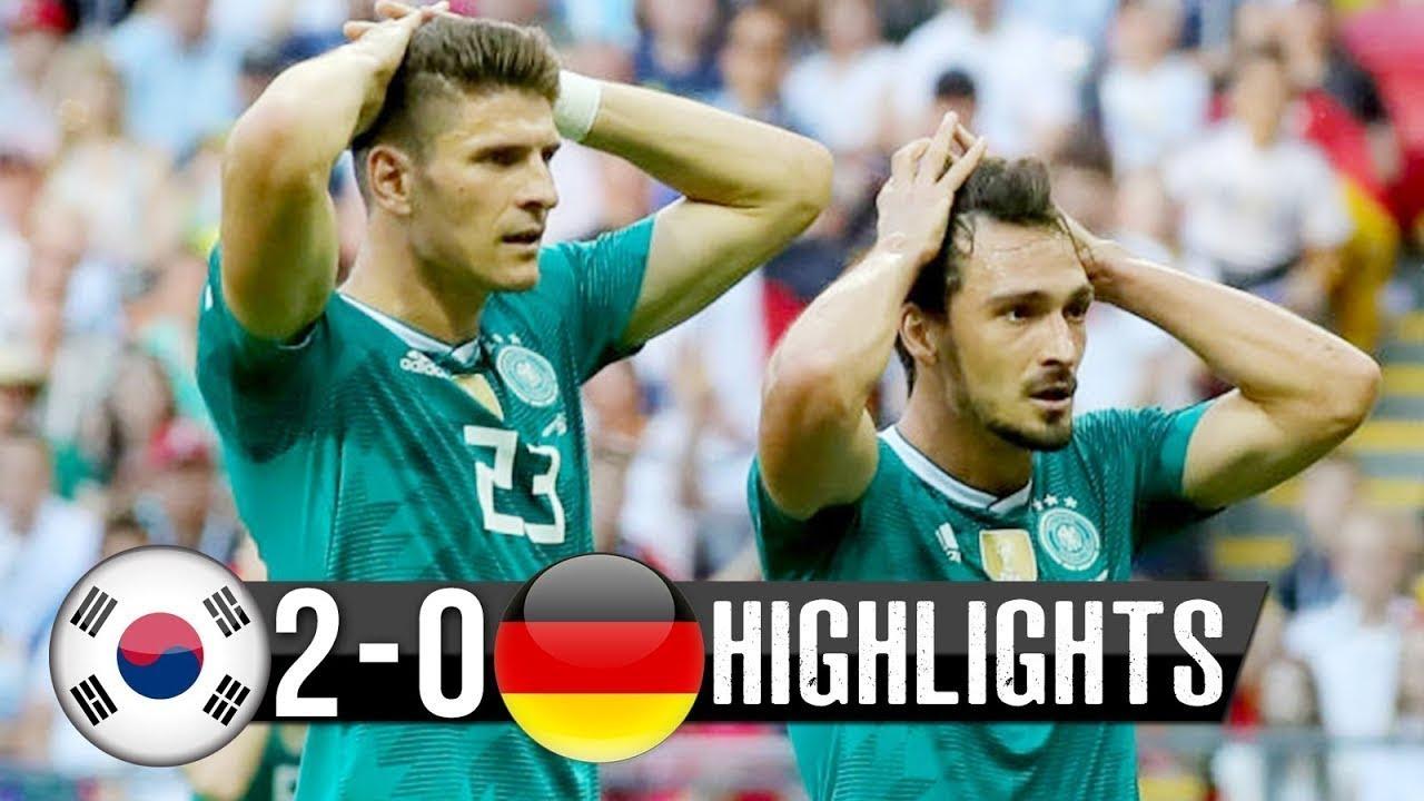 Download Korean  Vs Germany 2 - 0 All Goal Highlights & Resumen Goal World Cup 2018 HD