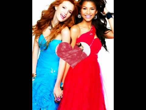 Bella and Zendaya seventeen magazine shoot 2012 - YouTube