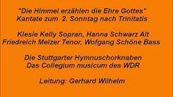 Bach Kantate BWV 76 Die Himmel erzählen die Ehre Gottes, Gerhard Wilhelm