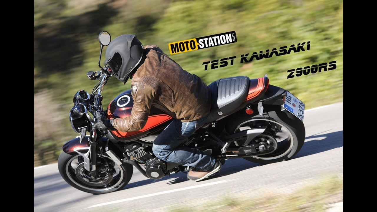 Essai Kawasaki Z900rs Youtube