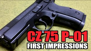 CZ 75 P-01 (First Impressions)